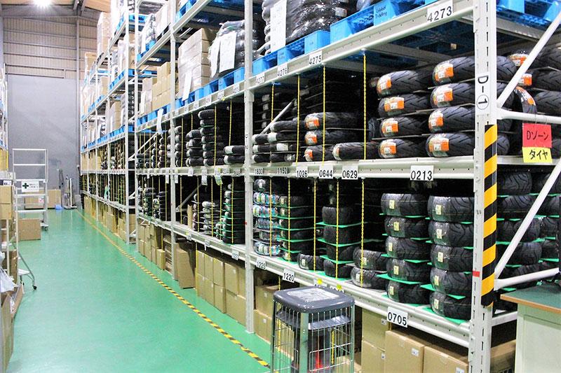 Warehouse landscape
